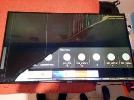 Televisor samgung de 55 pulgadas modelo UN55NU7100KXZL para repuesto