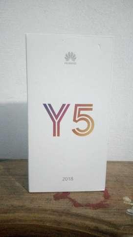 Vendo HUAWEI Y5 2018 nuevo