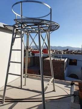 Soporte Metalico para tanque de agua