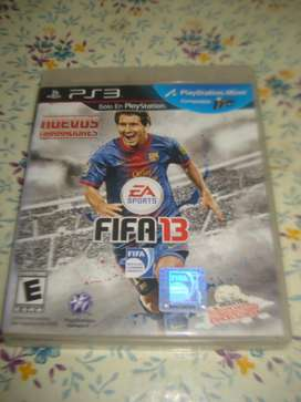 Juego Ps3 Fifa 2013 Origina En Caja C/manual Impecable Estad