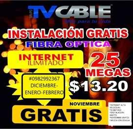 TVCABLE: INTERNET ILIMITADO PARA EL HOGAR!