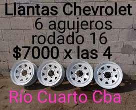 Llantas Chevrolet camioneta