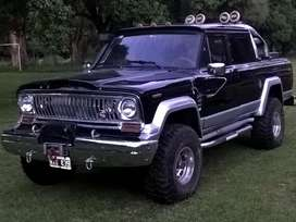 Jeep gladiator torino  doble cabina 4x4 1973. UNICA