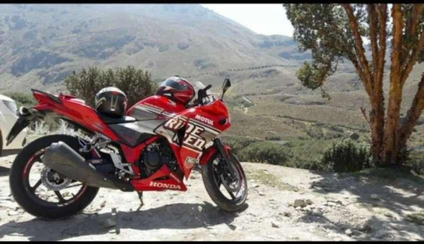 Moto Honda CBR 250  del 2016 vendo  o cambio  por pulsar 200/250 mas dinero a mi favor