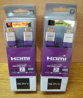 Cable HDMI Original Premium SONY 2 mtrs en Blister SONY