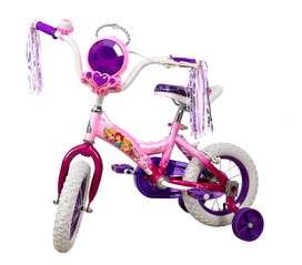 Bicicleta Niña Rin 12 Pulgadas Disney Princesas