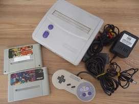 Nintendo snes con juegos