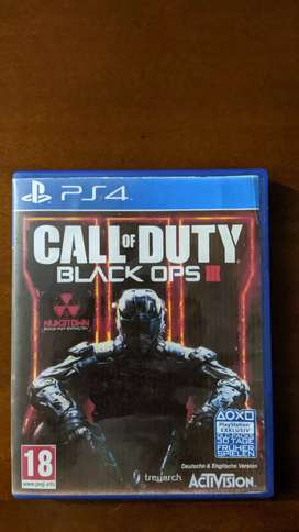 Calle of Duty Black ops 3 PS4