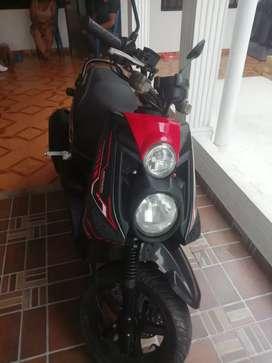 La moto tiene solo carta y traspaso