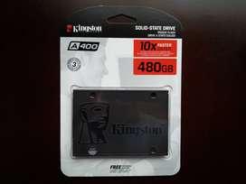 Disco Duro Solido 480GB Kingston, Nuevo.