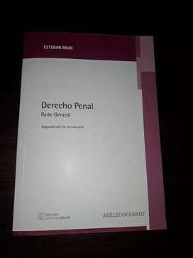 Libro derecho penal parte general 2edición - Esteban Righi