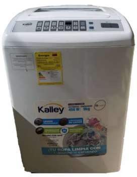 Lavadora Kalley 9 kg como nueva