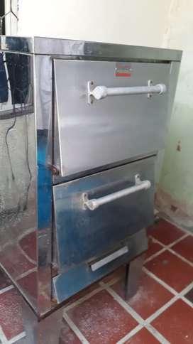 Vendo 2 hornos ...gratinador  carnes o pan en acero