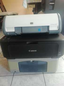 Se Vende Impresoras (2 Hp Y 1 Canon)