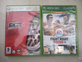 Películas de Xbox 360 PGR4 y FIGHT NIGHT