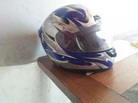 vendo casco azul como nuevo