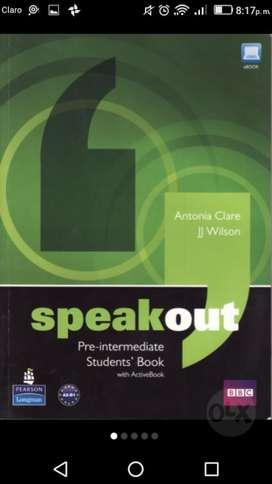 Vendo Libro Speakout Británico