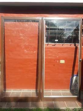 Hojas de Puerta Balcon C/vidrios