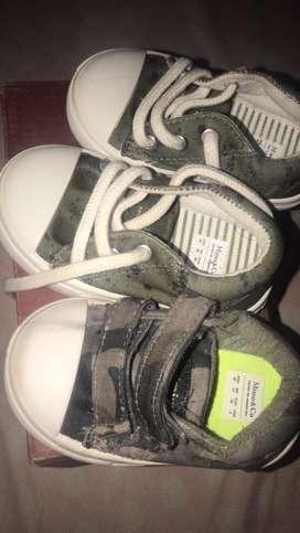 Zapatillas de bb 18 y 19