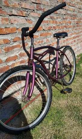 Vendo Bicicleta Playera Rodado 26 en excelente estado