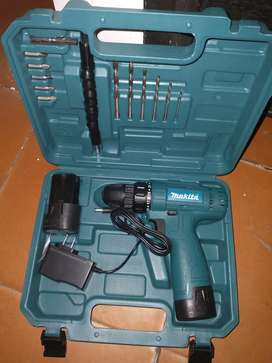 Taladro doble bateria recargable Makita