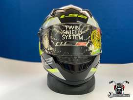 Casco De Motocicleta Nuevo Ls2 Concept Ii Tyrell