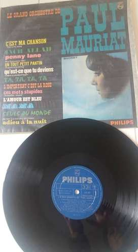 DISCO LP 33 LE GRAND ORCHESTRE DE PAUL MAIRIAT PHILIPS 12 TEMAS