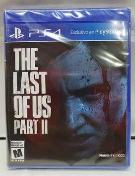 The Last of Us 2 PS4 Físico Nuevo Sellado Blu-ray Original