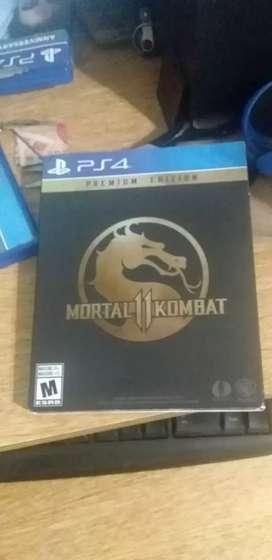 Mortal kombat 11 premiun edition usado fisico original