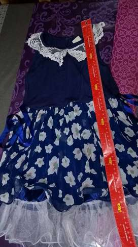 vestido nena importado sin uso