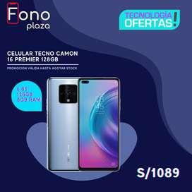 Celular Tecno Camon 16 Premier 8GB RAM 128GB ROM