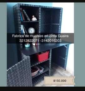 Escritorio aramrios en cinta plástica domicilio gratis Bogotá Soacha