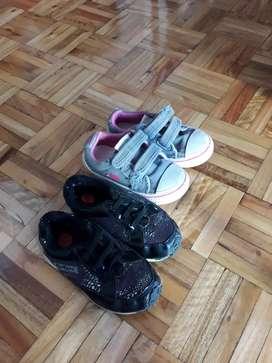 Zapatillas kickets y jaguar