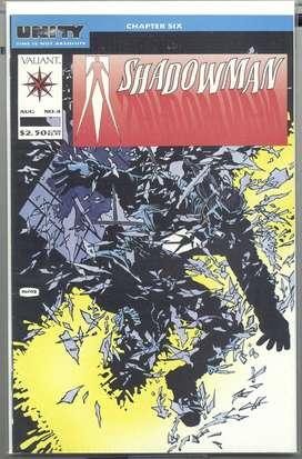 Conjunto de Revistas(comics) de editora Valiant 4 titulos, 1992-1993, en inglés