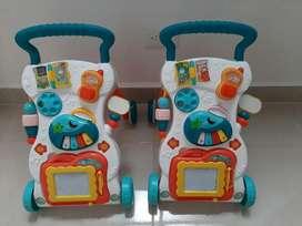 Caminador andador musical baby Walker didáctico