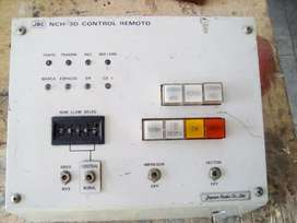 Tablero de control electrico. Made in Japan