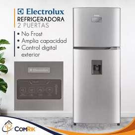 Refrigeradora Electrolux Gris