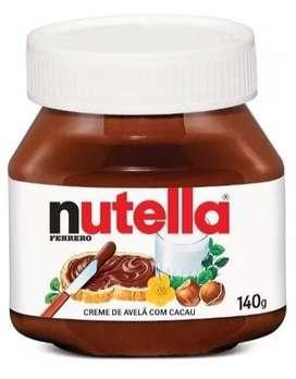 Chocolate Italiano Importado Ferrero Nutella 140gr