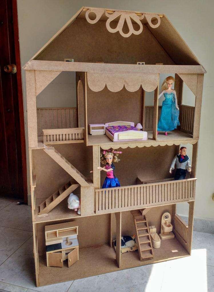 Casa de Muñecas en Mdf 0