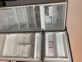 Nevera LG No Frost Congelador Superior 312 Litros