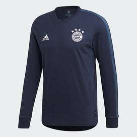 Camiseta adidas Fc Bayern Seasonal Special Tee-blue Original