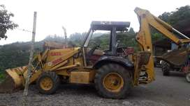 Backhoe Case 580K 4x4