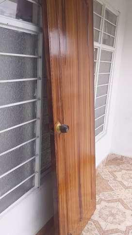 Se vende puerta de madera