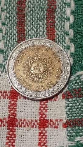 Vendo moneda de un peso