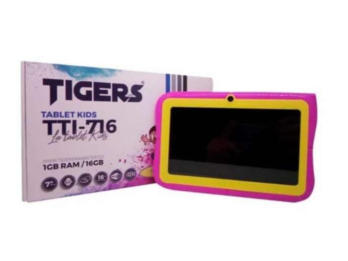 Tablet Tigers Niños Kids 16gb Rom 1gb Ram+estuche+protector