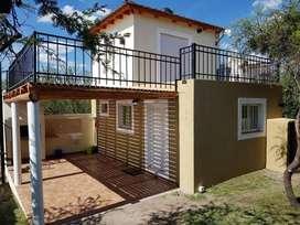 zg42 - Casa para 2 a 5 personas con cochera en Capilla Del Monte