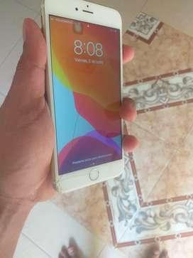 Vendo o cambio iphone 6s plus de 16 unico detalle las fisiras del resto perfecto