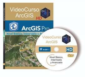 VIDEO Curso de ArcGIS desde cero y completo. Sistemas de Información Geográfica. Incluye mapas mundiales.