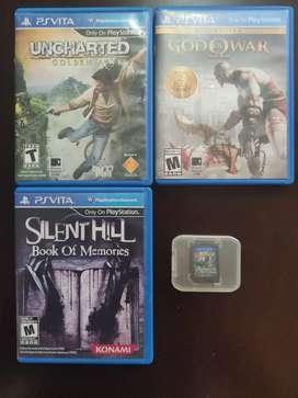 4 juegos psVita