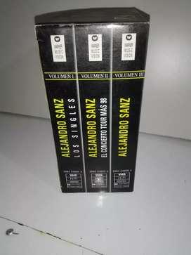 VHS Video cassette Alejandro Sanz